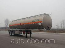 CIMC Lingyu CLY9351GYYC aluminium oil tank trailer