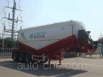 CIMC Lingyu CLY9401GFL1 medium density bulk powder transport trailer