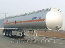 CIMC Lingyu CLY9401GRYB flammable liquid aluminum tank trailer