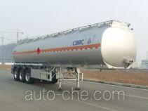CIMC Lingyu CLY9401GRYC flammable liquid aluminum tank trailer