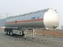 CIMC Lingyu CLY9401GRYD flammable liquid aluminum tank trailer