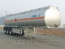 CIMC Lingyu CLY9401GRYE flammable liquid aluminum tank trailer