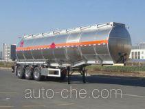 凌宇牌CLY9401GRYF型铝合金易燃液体罐式运输半挂车