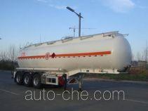 凌宇牌CLY9401GRYQ型铝合金易燃液体罐式运输半挂车