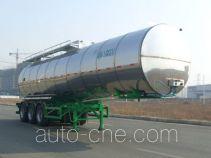 凌宇牌CLY9402GSY型铝合金食用油运输半挂车