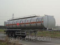 CIMC Lingyu CLY9403GRY flammable liquid aluminum tank trailer