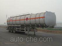 CIMC Lingyu CLY9403GRYC flammable liquid aluminum tank trailer