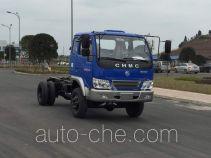 南骏牌CNJ2040ZEP31M型越野自卸汽车底盘