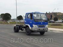 南骏牌CNJ3040EP28V型自卸汽车底盘