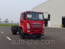 南骏牌CNJ3060ZPB37V型自卸汽车底盘