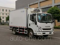 Putian Hongyan CPT5040XLCNJV refrigerated truck