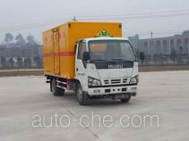 Putian Hongyan CPT5040XQYQ4 explosives transport truck