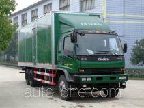 Putian Hongyan CPT5210XXY box van truck