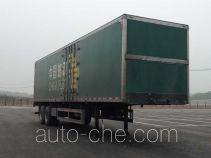 Putian Hongyan CPT9290XYZ13M postal van trailer