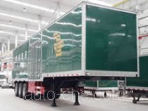 Putian Hongyan CPT9400XYZ13M postal van trailer