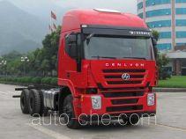 SAIC Hongyan CQ1255HMG38-474 truck chassis