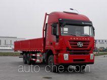 SAIC Hongyan CQ1255HMG444 cargo truck
