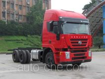 SAIC Hongyan CQ1255HTG38-474 truck chassis