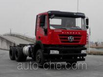 SAIC Hongyan CQ1256HTVG33-384 truck chassis