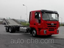 红岩牌CQ1256TCLHMVG563型载货汽车底盘