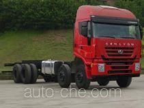 SAIC Hongyan CQ1314HXG46-486 truck chassis