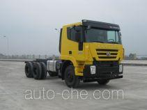 SAIC Hongyan CQ3254HTG41-434 dump truck chassis