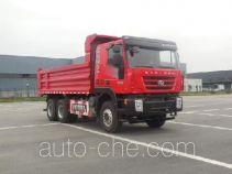 SAIC Hongyan CQ3255HTDG364L dump truck