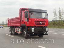 SAIC Hongyan CQ3255HTDG364S dump truck