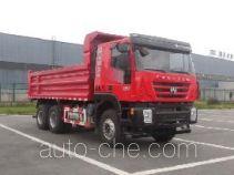 红岩牌CQ3255HTDG384L型自卸汽车