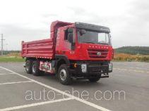 SAIC Hongyan CQ3255HTDG404L dump truck