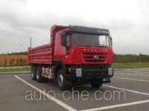 SAIC Hongyan CQ3255HTDG404S dump truck