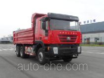 红岩牌CQ3255HTDG444L型自卸汽车