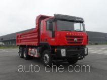 SAIC Hongyan CQ3255HTDG444S dump truck