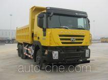 SAIC Hongyan CQ3255HTG385 dump truck