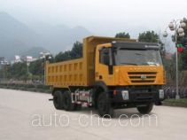 SAIC Hongyan CQ3255HTG404 dump truck
