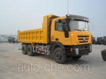 红岩牌CQ3255HTG474型自卸汽车
