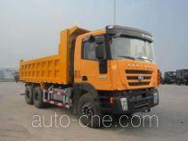 SAIC Hongyan CQ3255HTG504 dump truck