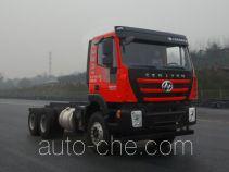 SAIC Hongyan CQ3256HMDG33-404 dump truck chassis