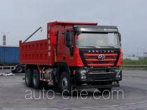 红岩牌CQ3256HMVG404S型自卸汽车