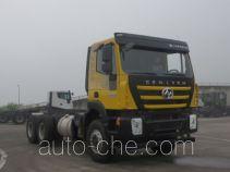 SAIC Hongyan CQ3256HTDG33-404 dump truck chassis