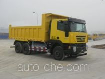 SAIC Hongyan CQ3256HTG384TBA dump truck