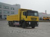 SAIC Hongyan CQ3256HTG474TB dump truck
