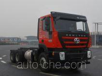 SAIC Hongyan CQ3256HTVG33-404 dump truck chassis