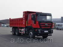 SAIC Hongyan CQ3256HTVG384BS dump truck