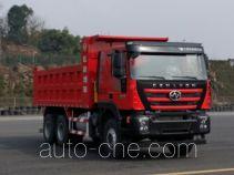 红岩牌CQ3256HTVG384L型自卸汽车