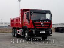 红岩牌CQ3256HTVG384S型自卸汽车