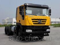 SAIC Hongyan CQ3256HTVG42-504 dump truck chassis