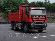 SAIC Hongyan CQ3256HTVG474L dump truck
