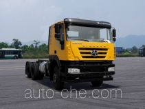 SAIC Hongyan CQ3256HXVG33-404 dump truck chassis