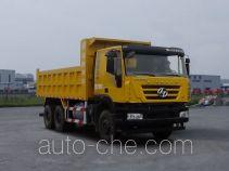 SAIC Hongyan CQ3256HXVG384L dump truck